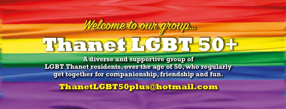 Thanet LGBT50+ Group - Logo