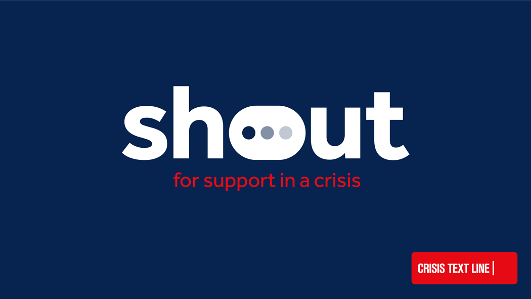 Image of Shout free 24 hour text help