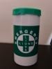 Thanet Lions - Emergency Message in a bottle/wallet logo